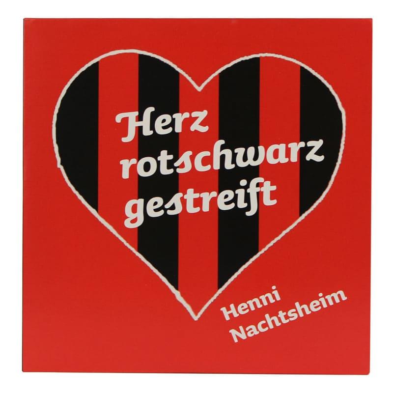 Herz rotschwarz gestreift - Henni Nachtsheim (CD)