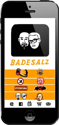 Badesalz-App Android iOS