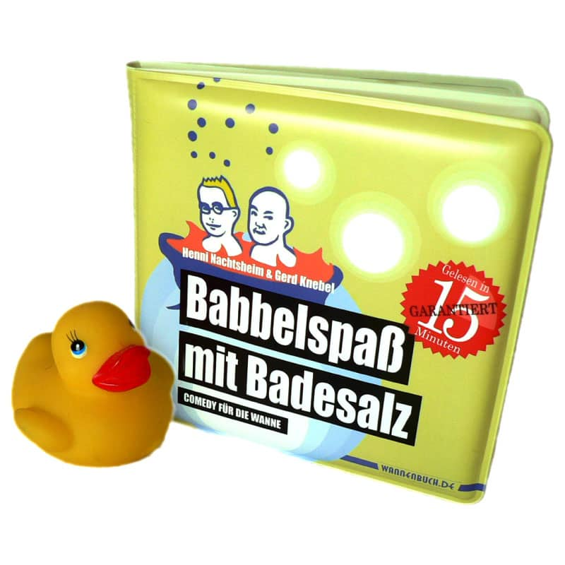 """Badewannenbuch """"Badespaß mit Badesalz"""""""