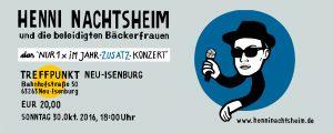 Ticket HENNI _Zusatzkonzert