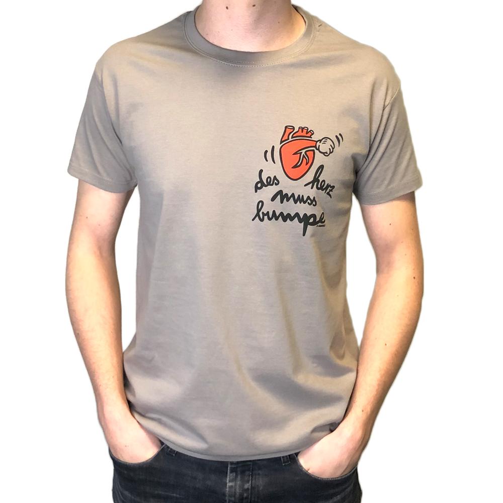 """T-Shirt """"des herz muss bumpe"""""""